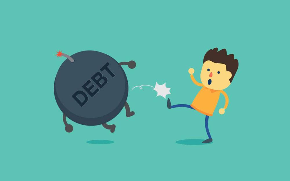 پرداخت بدهی