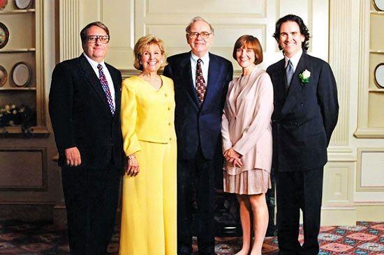 خانواده وارن بافت / warren buffett family