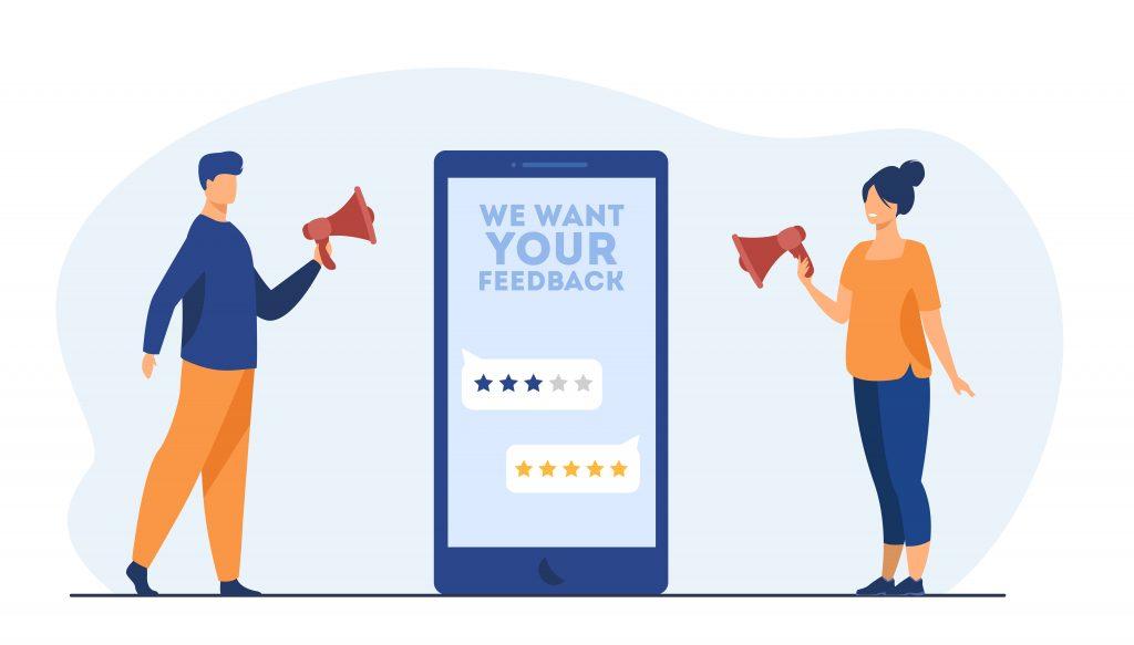 مدیریت تجربه مشتری با دریافت بازخورد