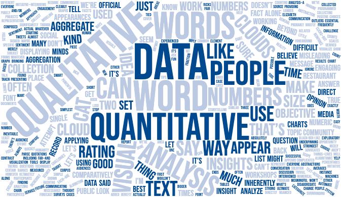 توضیح داده های کیفی